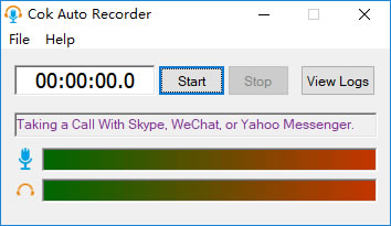 How to Record WeChat Voice Call on PC